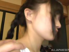 Asian Old and Young, Asian, Boobs, Clit, Creampie, Fingering