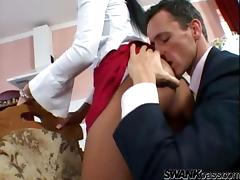All, Blowjob, Couple, Reality, Miniskirt, Sucking