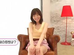 Japanese sweetheart Yurina Ayashiro shaved pussy fucking