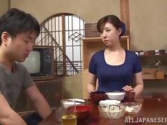 Asian Old and Young, Asian, Banging, Blowjob, Bra, Couple
