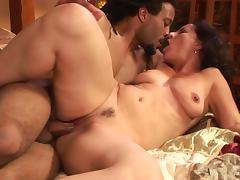 Melissa Monet gets fucked by black Dick James