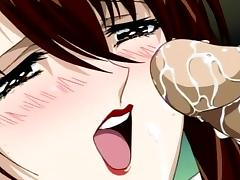 Sexy perverted screwing in hentai style