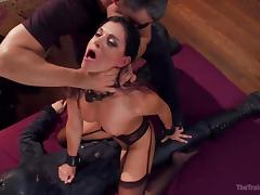 All, BDSM, Big Ass, Brunette, Choking, MILF