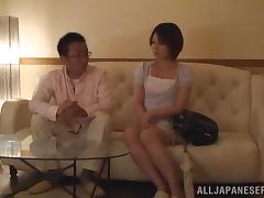 Beautiful Japanese Wife Goes Hardcore With Her Husband