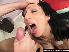 Stepmom Zoey Holloway Seduced By Her Young Step Son