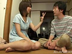 Yummy Koharu Aoi Serves A Handjob In a Reality Video