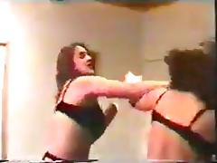 Catfight, Catfight, Femdom, Lingerie, Stockings, Wrestling