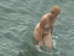 Hidden Cam, Beach, Blonde, MILF, Nudist, Outdoor