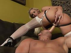 Christian XXX And Goddess Phoenix Marie Play With A Strapon