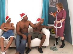 Juicy Izida Gets Gangbanged By Several Horny Fellows