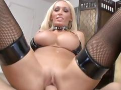 Gloves, Big Tits, Blonde, Blowjob, Boobs, Bra