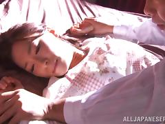Sweet Kaho Kasumi Gets Fucked In The Missionary Position