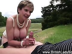 Pussy slammed Lady Sonia sucks