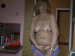 All, Blonde, Dildo, Granny, Mature, Old