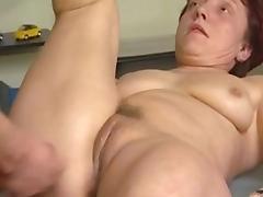 Mom and Boy, 18 19 Teens, Facial, Fucking, German, Granny