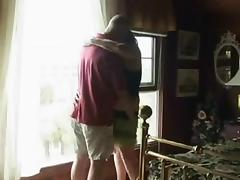 Fat mature granny sucks and fucks her hubby