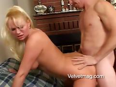 Exquisite Clarissa Gets Fucked Doggystyle Over A Couch