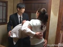 Japanese, Asian, Ass, Ass Licking, Babe, Blowjob