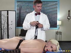 Sizzling hot blonde babe gets hammered by Mick Blue