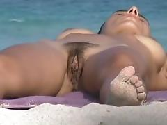 Undressing, Beach, Nude, Undressing, Voyeur