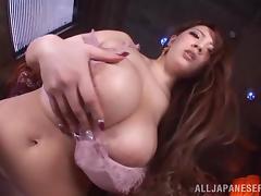 Japanese Mature, Asian, Big Tits, Bra, Fingering, Hairy