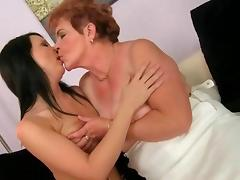 Grannies and Teens star in a Nasty Lez Compilation