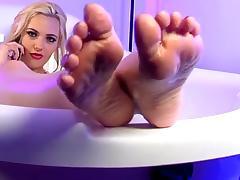Sophia Knight Feet