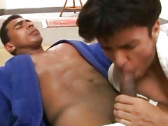 Butt Pummeled By Big Muscled Karate Gay