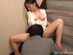 Scrumptious Kana Tsuruta Gets Her Pussy Licked And Has An Orgasm
