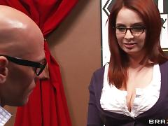 Sizzling Hot Cougar With Long Red Hair Enjoying A Fantastic Missionary Style Fuck