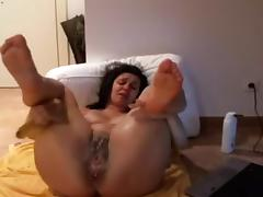 Anal Stretching Portuguese mother I'd like to fuck