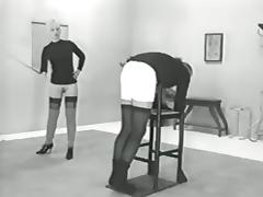 Historic Porn, Caning, Femdom, Punishment, Vintage, Antique