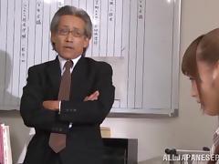 Pussy licking session with Fuuka Nanasaki