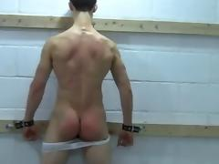Hampered Boy gets his Splendid Ass Whipped