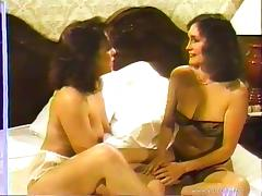 Lesbian Cougars Fingering Each Other's Pussies In This Retro Tape