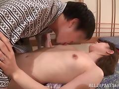 Sassy Skinny Japanese With Small Tits is Banged Doggystyle
