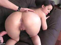 Angry, Angry, Asshole, Brunette, Couple, Cumshot