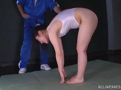 Sport, Asian, Couple, Cum, Japanese, Jerking