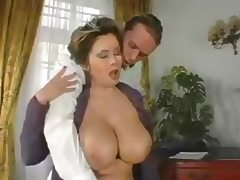 Grandma, Aged, Big Tits, Mature, Sex, Stockings