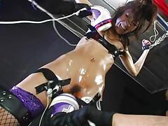 Bound, Asian, Blowjob, Bondage, Bound, Cunt
