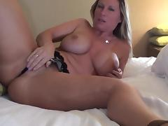 All, Bed, Big Tits, Blonde, Masturbation, Mature