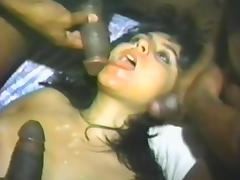 Orgy, Banging, Big Tits, Boobs, Brunette, Cum in Mouth