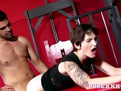 PureXXXFilms Video: British Slut Rides Hard