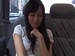 Aino Kishi Asian doll has sex in her car