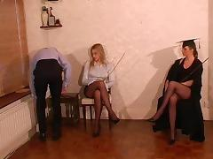 Teacher, British, Caning, Femdom, Mistress, Punishment