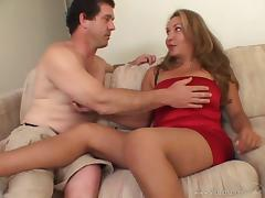 Shemale Hooker Gives Blowjob And Takes Cock In Ass