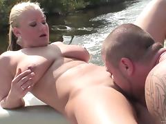 Boat, Banging, Big Tits, Boat, Chubby, Couple