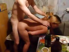 Old, Amateur, Doggystyle, Fucking, Kitchen, Mature