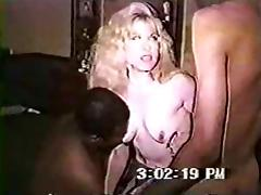 Swinger invite 2 black bulls to fuck his wife