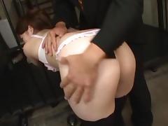 Anal Sex Loving MILF Yuu Kawakami Gets An Anal Creampie